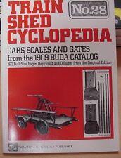 Train Shed Cyclopedia #28 Cars Scales Gates 1909