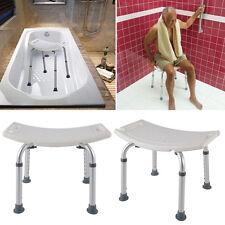Duschhocker Badestuhl Duschstuhl 7 Fach Verstellbar Quadrat Badhocker Duschhilfe