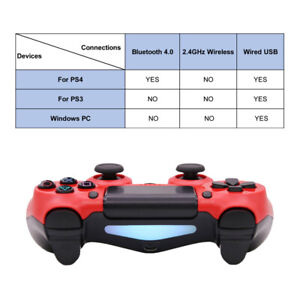 Non OEM For PC/Android/ PS4 Wireless Controller Bluetooth V2Game pad Controller