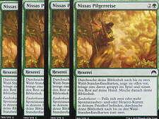 XXX 4x NISSAS PILGERREISE nissa's pilgrimage deutsch magic origins (green) NM/M