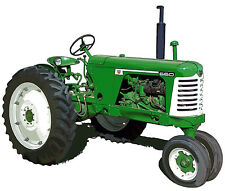 Oliver Model 660 farm tractor canvas art print by Richard Browne