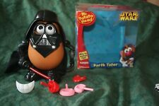 Mr Potato Head STAR WARS /  Darth Tater  [ Darth Vader ]  Figure Complete