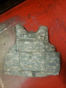 ARMY ACU DIGITAL BODY ARMOR PLATE CARRIER MADE W/KEVLAR INSERTS Large