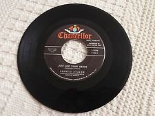 FRANKIE AVALON JUST ASK YOUR HEART/TWO FOOLS CHANCELLOR 1040