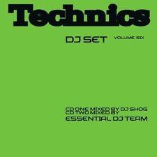 DJ Shog Technics dj set 06 (mix, 2002, CD2 mixed by Essential DJ Team) [2 CD]