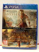 ASSASSIN'S CREED ODYSSEY+ORIGINS (Italiano, English) [PS4] Nuovo JoyGames