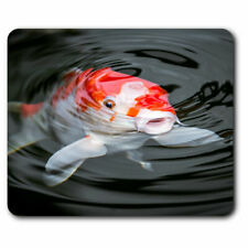 Computer Mouse Mat - Pretty Koi Carp Fish Pond Office Gift #16427