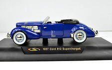 Cord 812 Supercharged Year 1937 Blue 1:3 2 by Signature Models