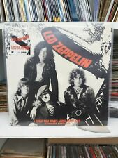 LED ZEPPELIN - I TOLD YOU BABY LONG TIME AGO - LIM.ED CLEAR VINYL LP 260/450