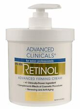Retinol Advanced Firming Cream Spa 16 oz Anti Aging Face Skin Wrinkles Remover .