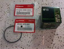 1988 - 2000 Honda TRX300 FourTrax 300 (All) HF113 Oil Filter Kit w/Cover O-Rings