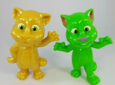 Mcdonald's 2016 Talking Tom Set of 2 Gold and Green.