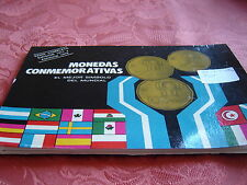 (Ref Arg.01)  COFFRET COMMÉMORATIF COUPE DU MONDE 1977 et 1978