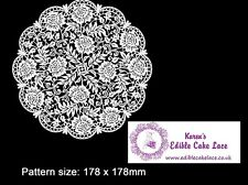 Cake Lace Mat - 3D HD Victoriana Floral Doily