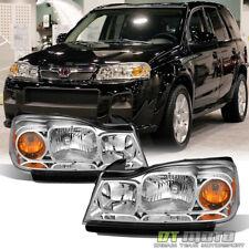 2006-2007 Saturn Vue Headlights Headlamps Replacement 06-07 Driver & Passenger