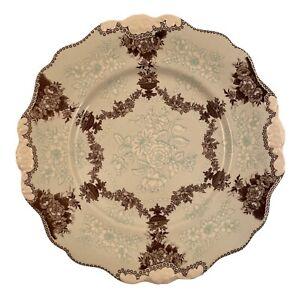 "ANTHROPOLOGIE ""Estruscan Festoon"" Lunch/Salad/Dessert Plate 9"""