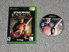 Star Wars: Knights of the Old Republic Xbox Game & Case