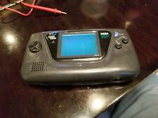 Sega Game Gear Black Handheld System (AS-IS, PARTS, REPAIR! POWERS ON!)