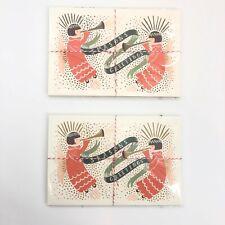 Rifle Paper Co. Postcards Seasons Greetings Angel Christmas Holiday Cards