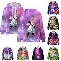 New Fashion Women//Men Majin Buu 3D Print  Pullover Hoodie Sweatshirt ST11