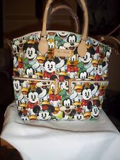 Disney Dooney & Bourke Mickey & Friends Faces-Pocket Satchel-NWT