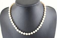 Perlenkette mit 585er Gelbgoldschließe (c0692)