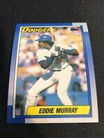 1990 Topps # 305 EDDIE MURRAY Los Angeles Dodgers HOF Baseball Card