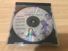 702 Where My Girls At The Remixes Mega Rare Promo cd R&B Soul Allstar Remixes