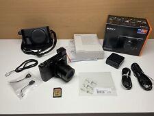 Sony Cyber-shot DSC-RX100M3 20.1 MP Digitalkamera LCJ-RXF Leder 128 GB SD-Karte