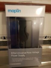 Maplin 65W Universal Auto Voltage Power Supply for Laptops - NEW BOXED