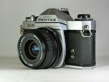 [Excellent+++++] Pentax KM Manual Focus SLR & 28mm f2.8 Wide Angle Lens fm Japan