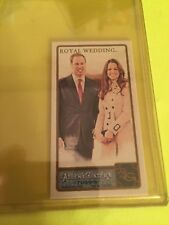 2011 Allen & Ginter Royal Wedding Prince William Kate Middleton Mini Card 293