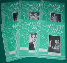 Magische Welt 1953 - Zauber-Fachzeitschrift  - ungelesenes Sammlerexemplar