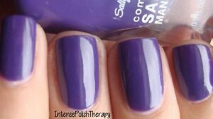 NEW Sally Hansen Complete Salon Manicure nail polish MARDI GRAPE