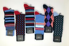 $72 ENGLISH LAUNDRY Men's Dress Socks Shoe Size 6.5-12. Many Shapes And Colors.