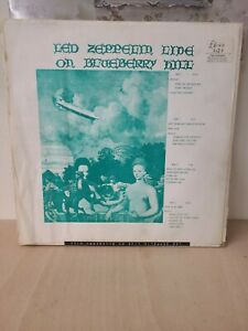Led Zeppelin Live On Blueberry Hill 12 Inch Double Vinyl Record