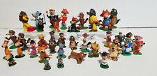 Vintage set of 39 Hanna Barbera Marx Tinykins figures