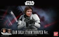 Star Wars 1/12 Plastic Model Han Solo Stormtrooper Model Kit Bandai Hobby