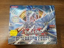 Yu-gi-oh! Generation Force Factory Sealed 1st Edition 24 Pack Booster Box