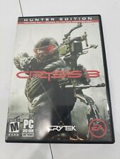 CRYSIS 3 Hunter Edition (PC, 2013) COMPLETE 2 Discs + Quick Guide CLEAN Tested