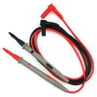1 Paire Cordon Testeur Cable Pour Voltmetre Ohmmetre Multimetre Amperemetre R3O6