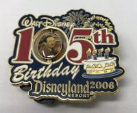 DLR - Walt Disney's 105th Birthday (Spinner) PIN LE 1000  2006 Disney