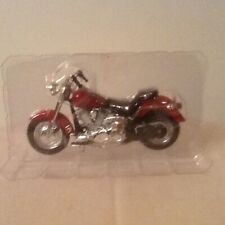 Official Reproduction Harley Davidson Red Motorcycle DIecast by Maisto Brand New