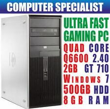 PCs de sobremesa y todo en uno Intel Quad Core 8GB