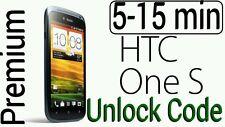 Unlock Code HTC One S , My Touch Inspire 4G Amaze Desire 601 610 5-15min PREMIUM