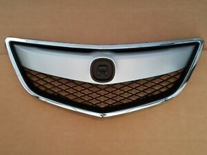 fits 2013-2015 ACURA RDX Front Bumper Grille Assembly Satin, Chrome, & Black NEW