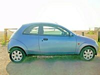 Ford KA 1.3, MOT, FSH, Lady owner 9 years, 72,000 miles, Air Con, Power Steering