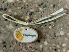 FREE SHIPPING LONGABERGER TIE ON FOR THE MINIATURE SNAPDRAGON  BASKET-NEW-