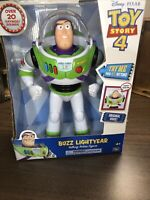 Disney Toy Story 4 Buzz Lightyear 12 Inch Interactive Talking Action Figure