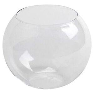 Aquael Glass Fish Bowl 30cm Aquarium Starter Beginner Tank Classic Goldfish